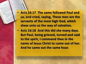 Philippians Soothsayer