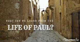 Life of Paul