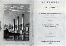 Principles of Geology by Charles Lyle (Image from Google Images)