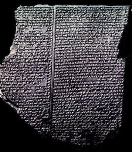 Epic of Gilgamesh (Image from Google Images)