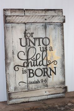 unto us a child is born -2