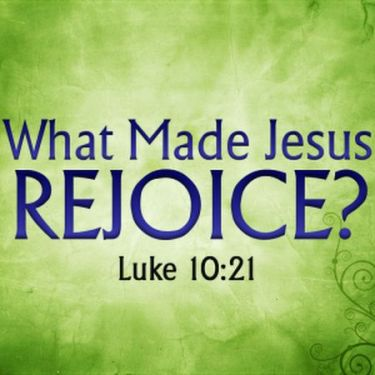 Jesus Rejoicing - 2