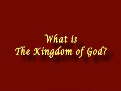 Kingdom of God - 4