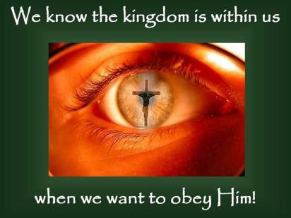 Kingdom within you