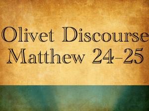 Olivet Discourse Unity