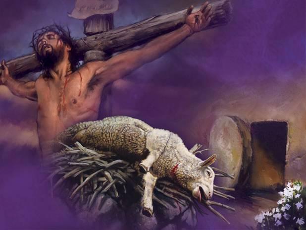 Lamb that was slain