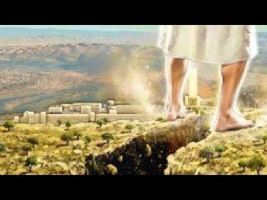 Babylon - His feet on Mt. Olives